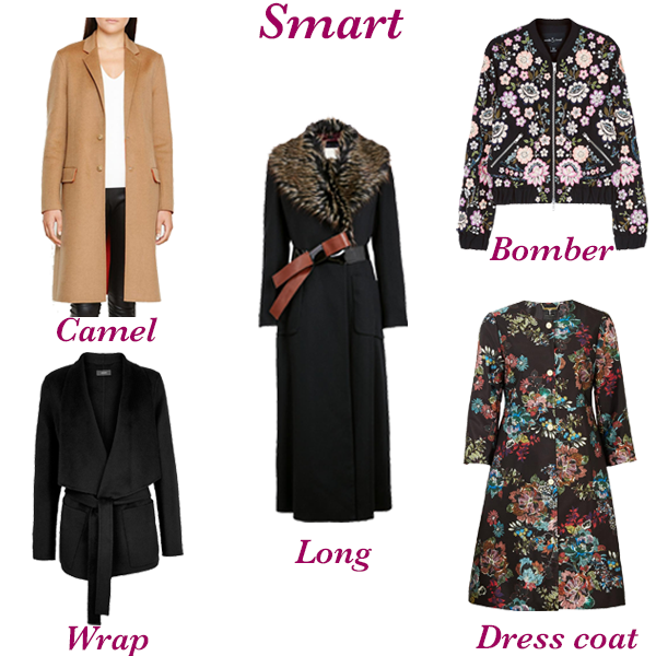 Capsule wardrobe essential coats and jackets