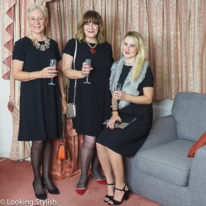 3 Women, 1 Little Black Dress Styled for Parties and Casual Wear