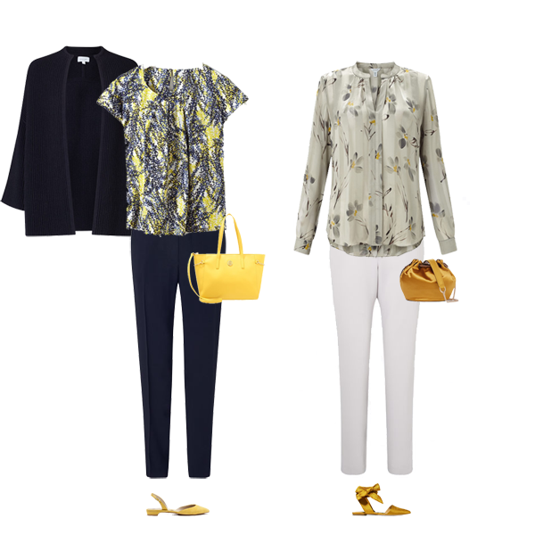 How to wear yellow, spring 2017 colours