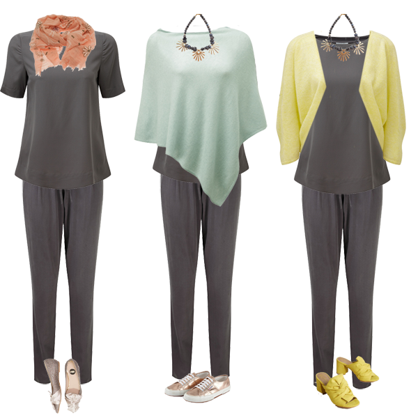 silk trousers 3 ways