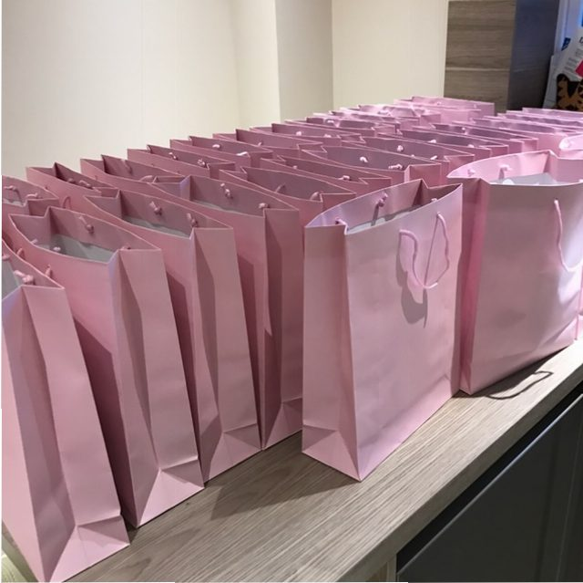 style event goodie bags