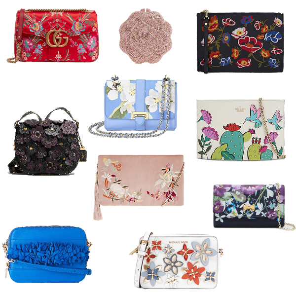 Floral bags,