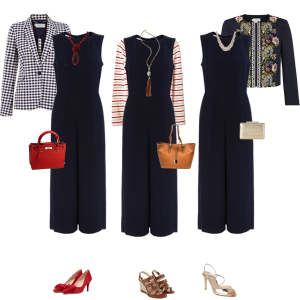 How to Wear – One Jumpsuit 3 Ways