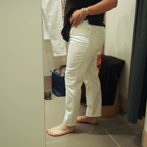 White jeans review, how to wear,