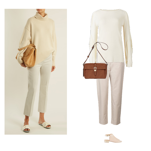 how to wear neutrals, how to look expensive