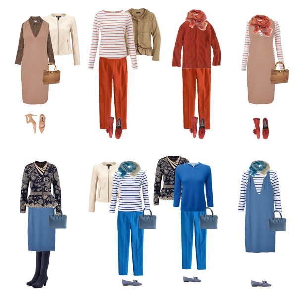 Transition Capsule wardrobe,Summer to Autumn capsule wardrobe,