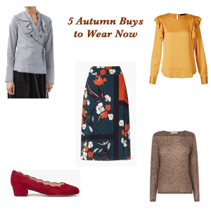 5 Autumn Pieces You Can Wear Now