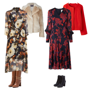 How to Wear – Autumn Trend, Dark Florals