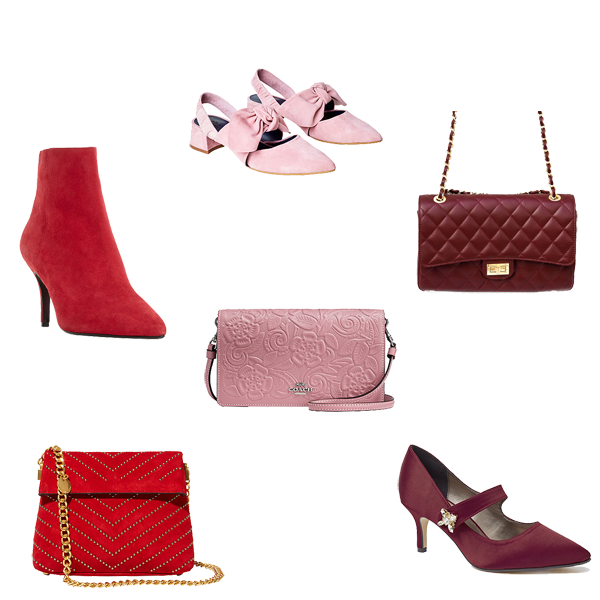 how to wear red and pink, your best red and pink