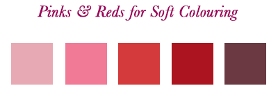 Your best pink and red.