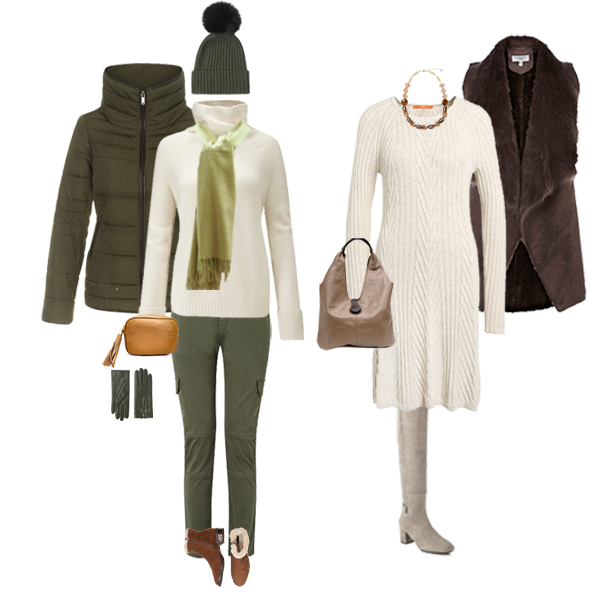 Autumn weekend casual capsule wardrobe
