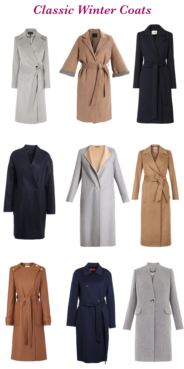 What to buy in the sales, classic winter coats