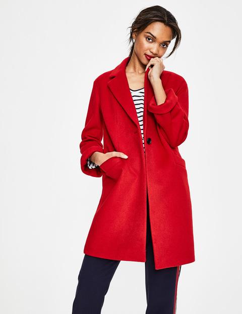 Boden mid season sale, red coat