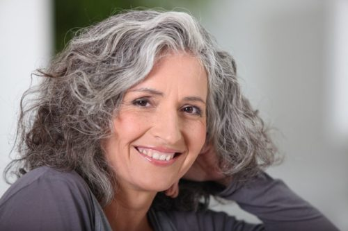 should I go grey, woman with grey hair, how to wear colour, cool dominant