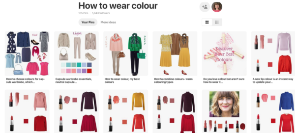 How to wear colour, Looking Stylish Pinterest boards