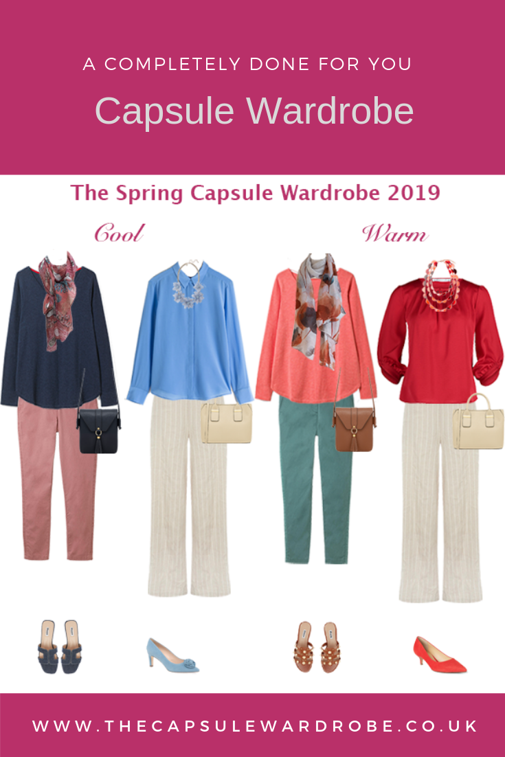 spring capsule wardrobe 2019, done for you capsule wardrobe