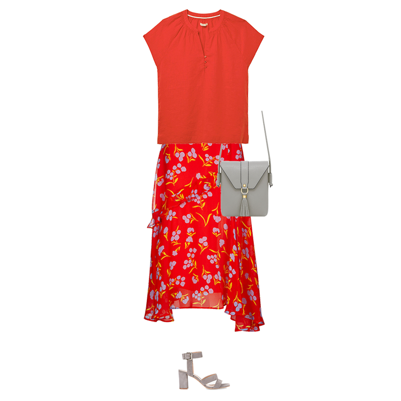 Summer Midi Skirts to Suit Your Colouring