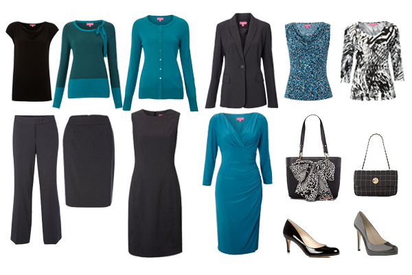Easy Business Wear Capsule Wardrobe