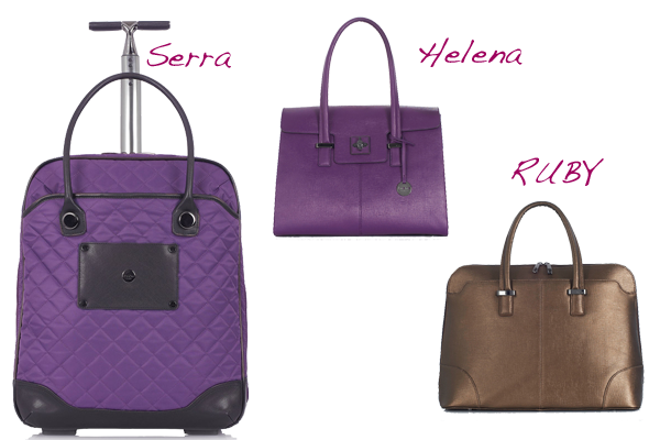 Laptop bags for business women from Knomo