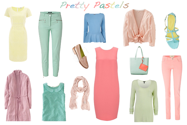 how to wear pastels