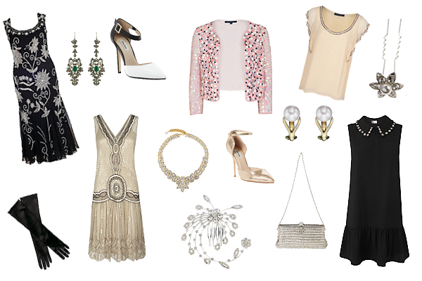 how to wear Gatsby style