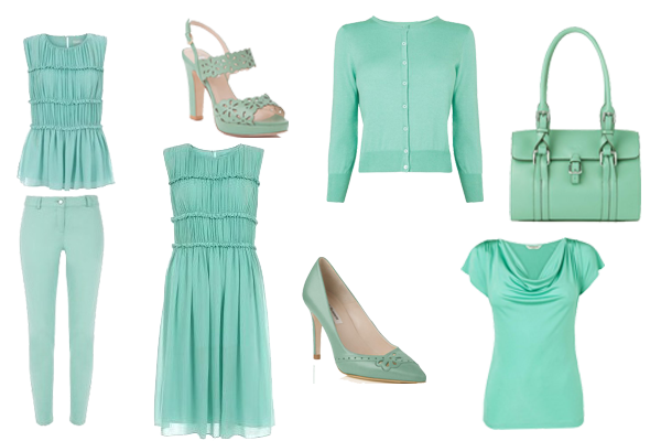 seasonal colour trend mint