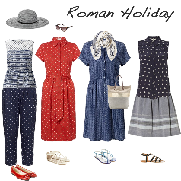 get the look roman holiday