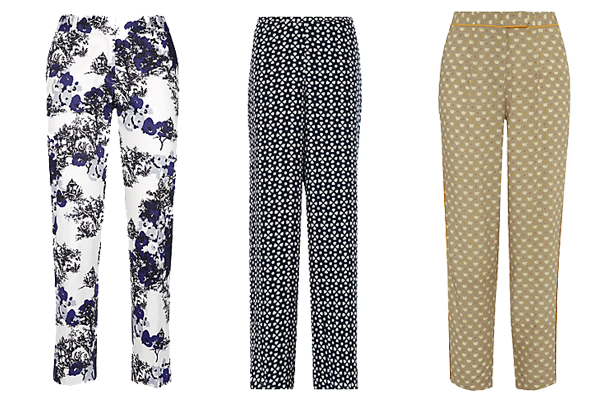 summer trouser trends, crop trousers, how to wear, summer brights, capri, summer trousers