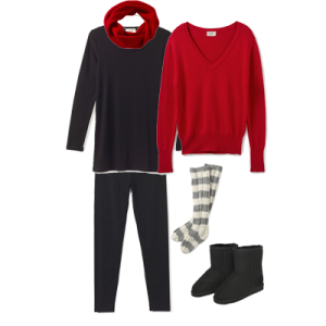 what to wear Christmas day lounging