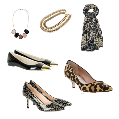 animal print, statement necklace, must have accessoires