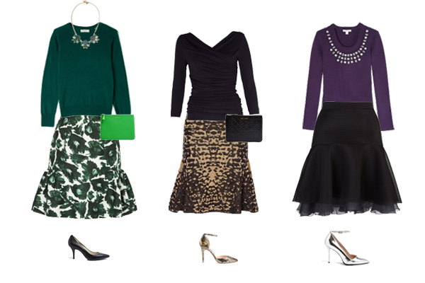 statement skirts, luxury skirts, how to wear new skirt shape
