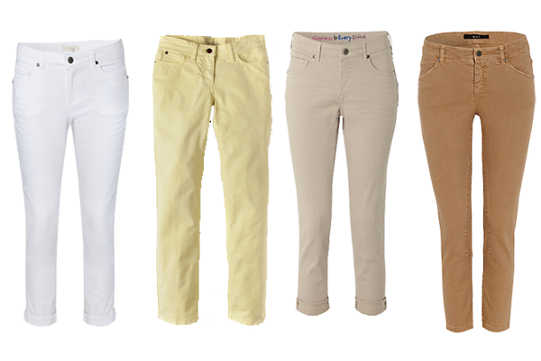 How to wear crop trousers