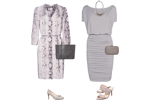 weekly outfit, how to wear grey