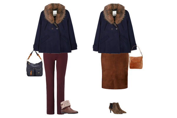 How to wear, Peacoat