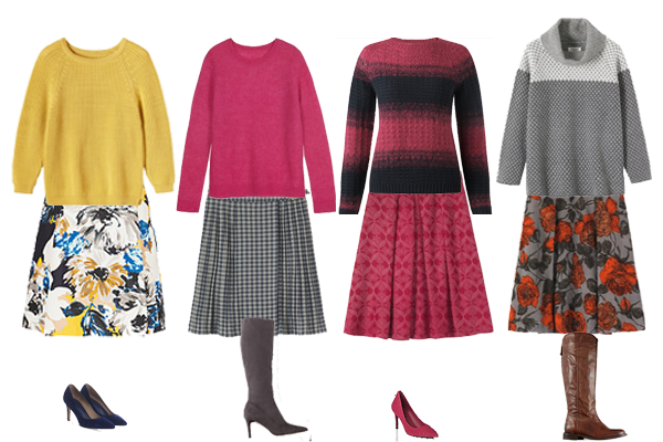 how to wear, autumn knnits
