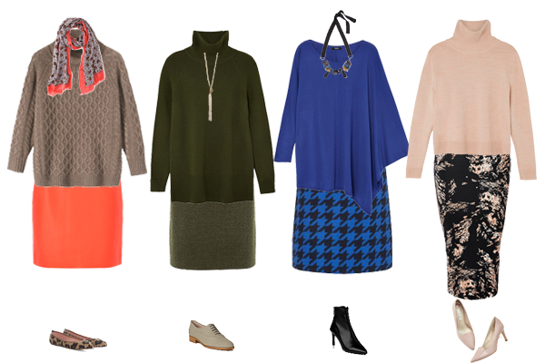 How to wear, autumn knits