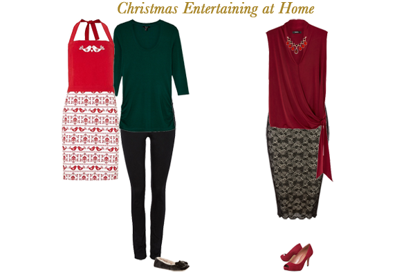 Christmas entertaining at home, what to wear
