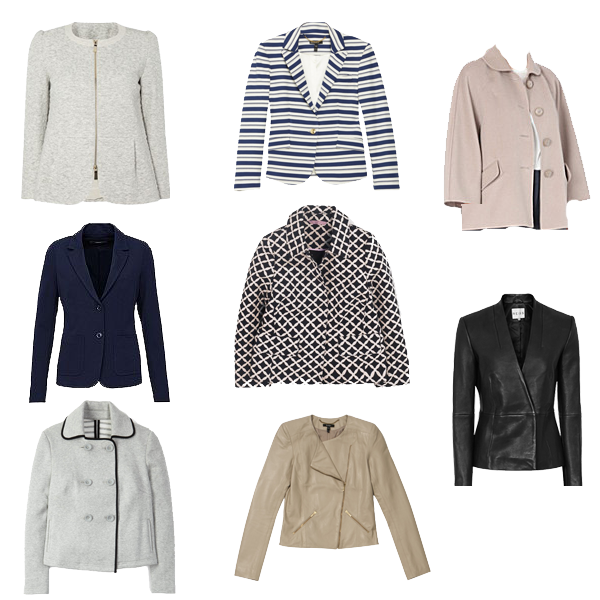 casual jacket what to buy, spring capsule wardrobe