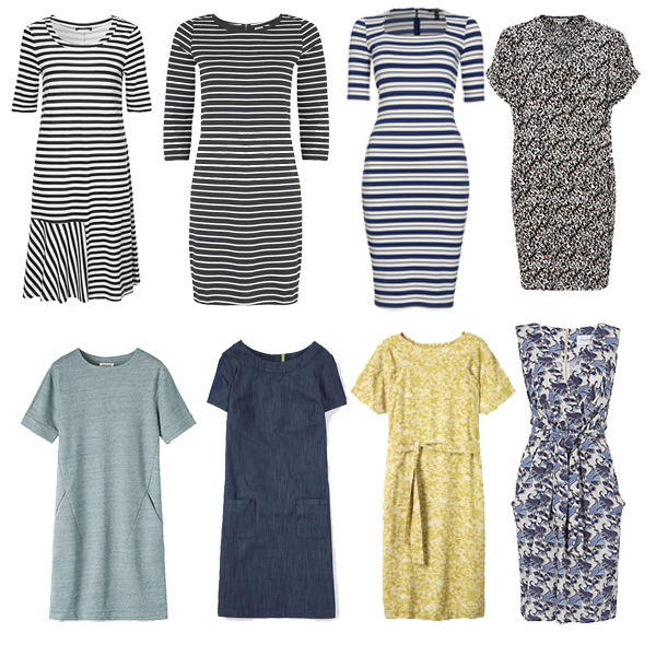 How to create a capsule wardrobe, casual dresses for a capsule wardrobe