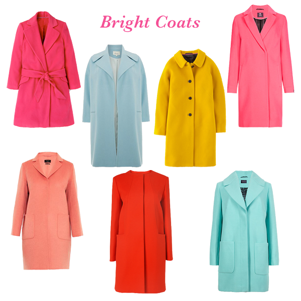 what to wear now bright coats