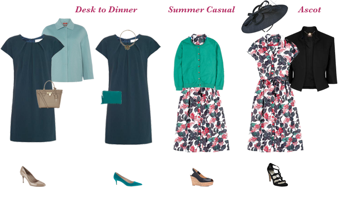 How to create a capsule wardrobe, capsule wardrobe pieces double duty dresses