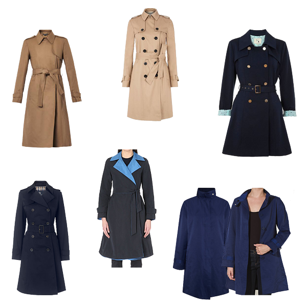 raincoats what to buy, spring capsule wardrobe
