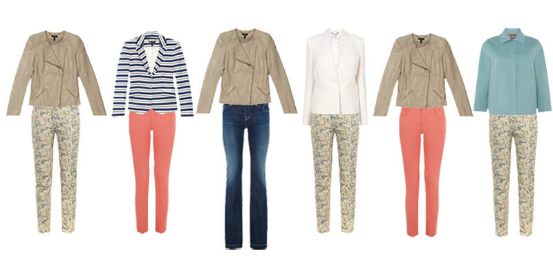 how to choose trousers for a capsule wardrobe