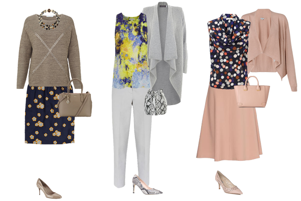 How to wear neutrals, mixing colour with neutrals, capsule wardrobe