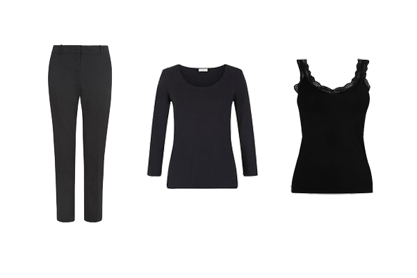 capsule wardrobe core pieces