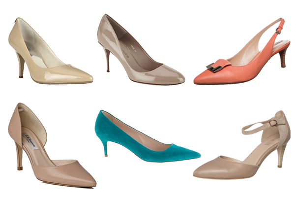 capsule wardrobe accessories, court shoes