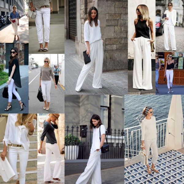 Inspiration white trousers