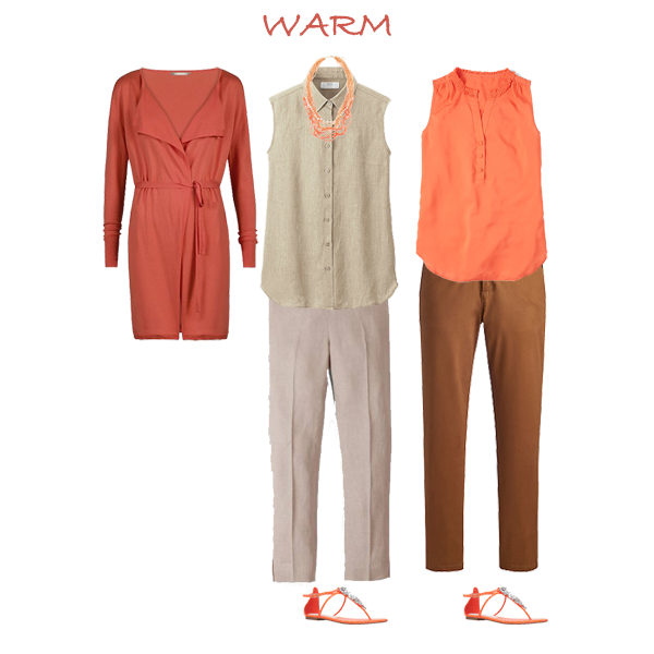 How to create a capsule wardrobe, colours to suit you