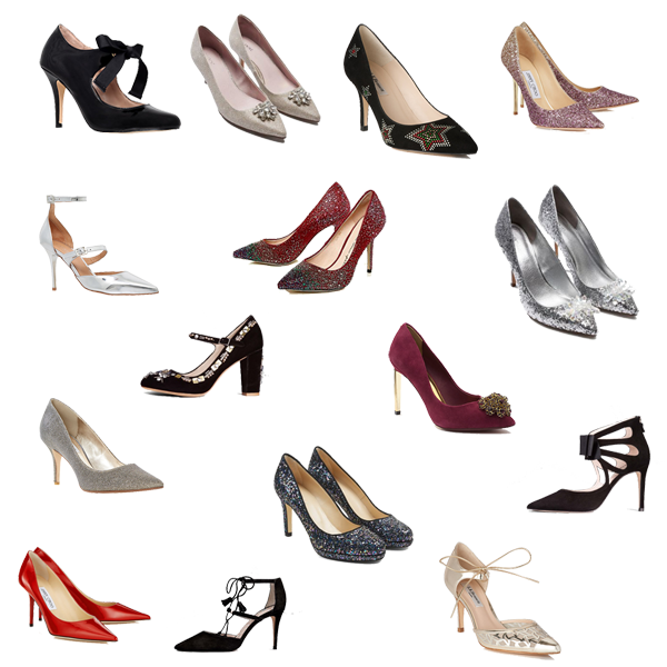 party shoes, what to wear for Christmas,