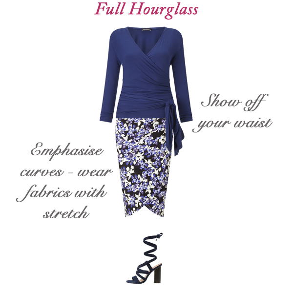 Best skirt styles for your body shape - full hourglass